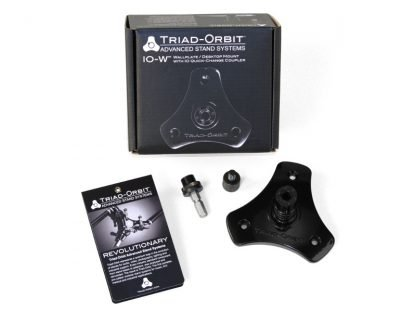 Triad-Orbit IO-W Wallplate / Desktop Surface Mount with IO Quick-Change Coupler