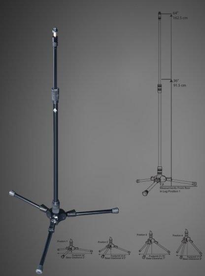 Triad-Orbit T2 Professional Tripod Mic Stand