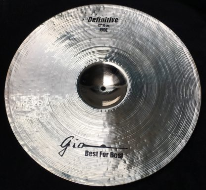 "GIO Cymbals - Best For Best - DEFINITIVE 22"" INCH RIDE CYMBAL"