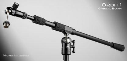 Triad-Orbit O1 Orbit 1 Ball-Swivel Single-Arm Long Boom with IO Quick-Change Coupler