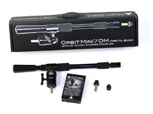 Triad-Orbit OM Orbit Mini Ball-Swivel Single-Arm Short Boom with IO Quick-Change Coupler
