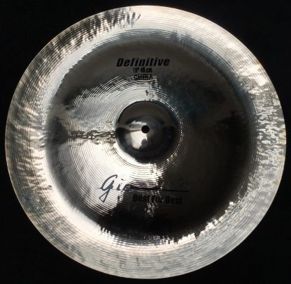 "GIO Cymbals - Best For Best - DEFINITIVE 19"" INCH CHINA CYMBAL"