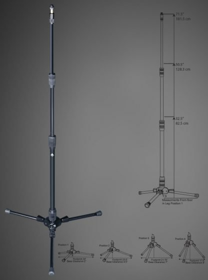 Triad-Orbit T3 Tall Tripod Advanced Stand System