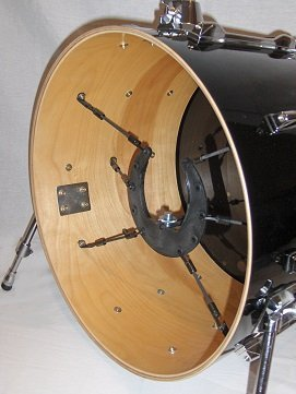 The Kelly SHU Composite Kick Drum Bass Microphone Shock-Mount Isolation System