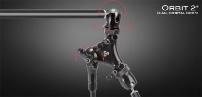 Triad-Orbit O2 Orbit 2 Dual-Arm Ball-Swivel Long Boom System with IO Quick-Change Couplers