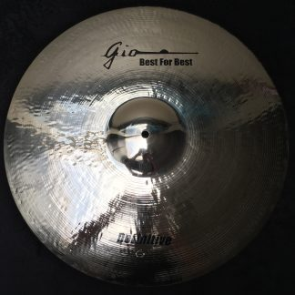 GIO Cymbals - Best For Best - DEFINITIVE CRASH/RIDE CYMBAL