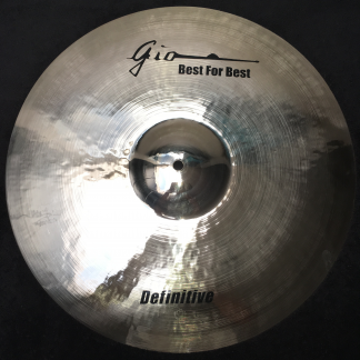 "GIO Cymbals - Best For Best - DEFINITIVE 19"" INCH CRASH CYMBAL"