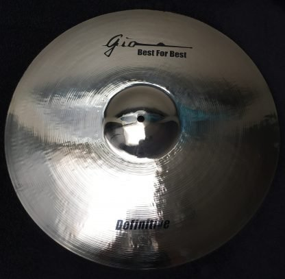 "GIO Cymbals - Best For Best - DEFINITIVE 21"" INCH CRASH RIDE CYMBAL"