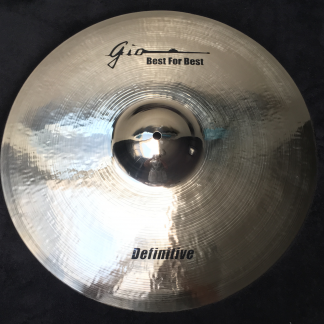 "GIO Cymbals - Best For Best - DEFINITIVE 21"" INCH RIDE CYMBAL"