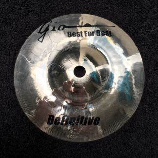 "GIO Cymbals - Best For Best - DEFINITIVE 6"" INCH SPLASH CYMBAL"