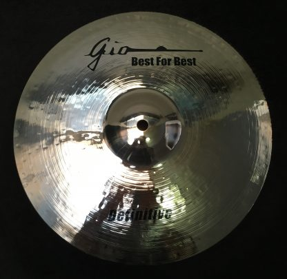 "GIO Cymbals - Best For Best - DEFINITIVE 13"" INCH HIHAT BOTTOM CYMBAL"