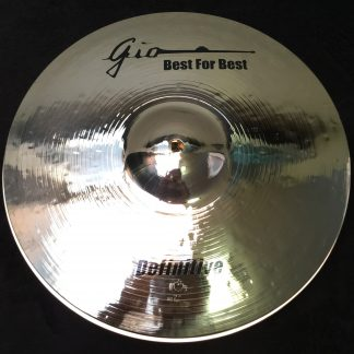 "GIO Cymbals - Best For Best - DEFINITIVE 13"" INCH HIHAT CYMBALS"