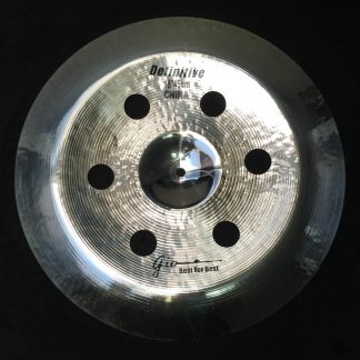 "GIO Cymbals - Best For Best - DEFINITIVE 18"" INCH HOLEY CHINA CYMBAL"