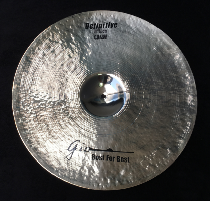"GIO Cymbals - Best For Best - DEFINITIVE 20"" INCH CRASH CYMBAL"