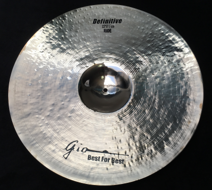 "GIO Cymbals - Best For Best - DEFINITIVE 23"" INCH RIDE CYMBAL"