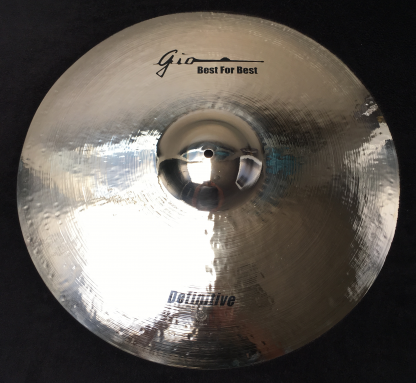 "GIO Cymbals - Best For Best - DEFINITIVE 24"" INCH RIDE CYMBAL"