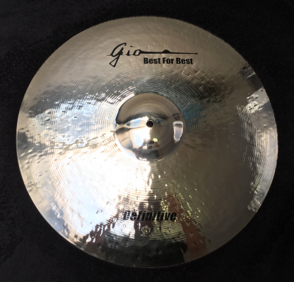 GIO Cymbals - Best For Best - DEFINITIVE CRASH CYMBAL