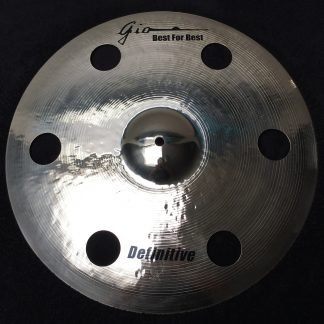 "GIO Cymbals - Best For Best - DEFINITIVE 19"" INCH HOLEY CRASH CYMBAL"