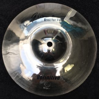 "GIO Cymbals - Best For Best - DEFINITIVE 10"" INCH SPLASH CYMBAL"