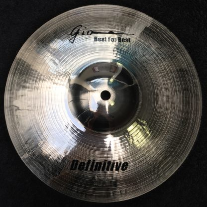 "GIO Cymbals - Best For Best - DEFINITIVE 11"" INCH SPLASH CYMBAL"
