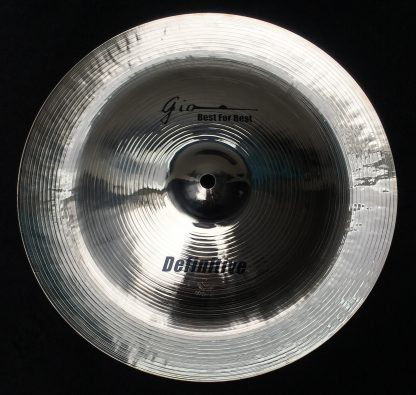 "GIO Cymbals - Best For Best - DEFINITIVE 14"" INCH CHINA CYMBAL"