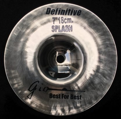 "GIO Cymbals - Best For Best - DEFINITIVE 7"" INCH SPLASH CYMBAL"