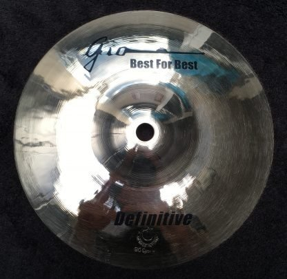 "GIO Cymbals - Best For Best - DEFINITIVE 8"" INCH SPLASH CYMBAL"