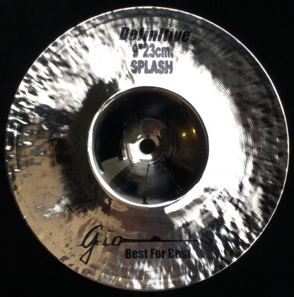 "GIO Cymbals - Best For Best - DEFINITIVE 9"" INCH SPLASH CYMBAL"