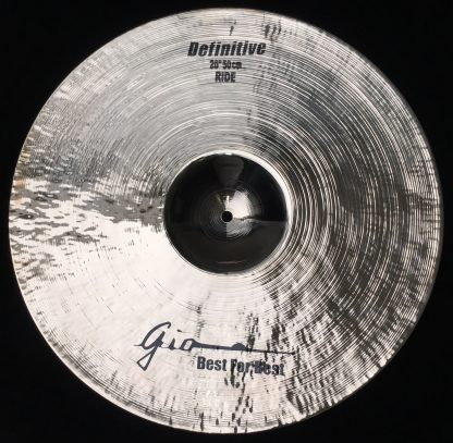 "GIO Cymbals - Best For Best - DEFINITIVE 20"" INCH RIDE CYMBAL"