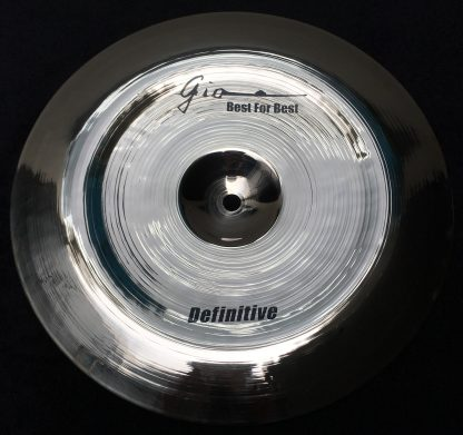 "GIO Cymbals - Best For Best - DEFINITIVE 12"" INCH CHINA CYMBAL"