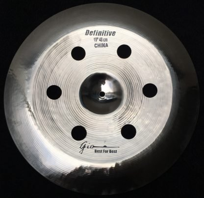 "GIO Cymbals Definitive 19"" Holey China Cymbal"