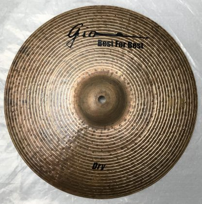 GIO Cymbals - Best For Best - DRY BOTTOM HIHAT CYMBAL top