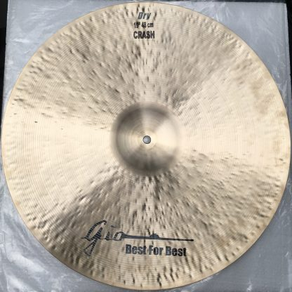 GIO Cymbals - Best For Best - DRY CRASH CYMBAL bottom