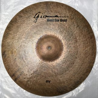 GIO Cymbals - Best For Best - DRY CRASH CYMBAL top