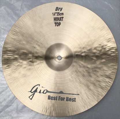 GIO Cymbals - Best For Best - DRY TOP HIHAT CYMBAL bottom