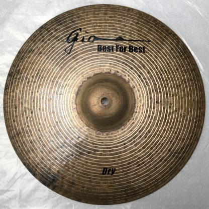 GIO Cymbals - Best For Best - DRY TOP HIHAT CYMBAL top