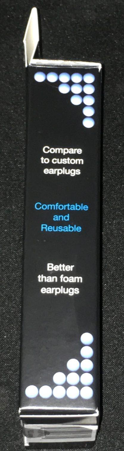 Earasers Peace & Quiet Earplugs - left side