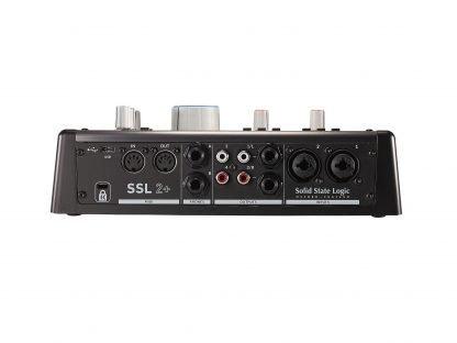 SSL 2+ rear