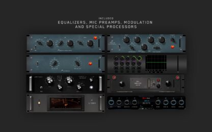 Antelope Audio Equalizers, Mic Preamps, Modulation and Special Processors